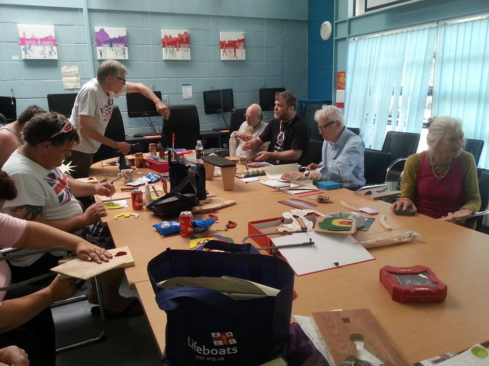 Men In Sheds craft workshop
