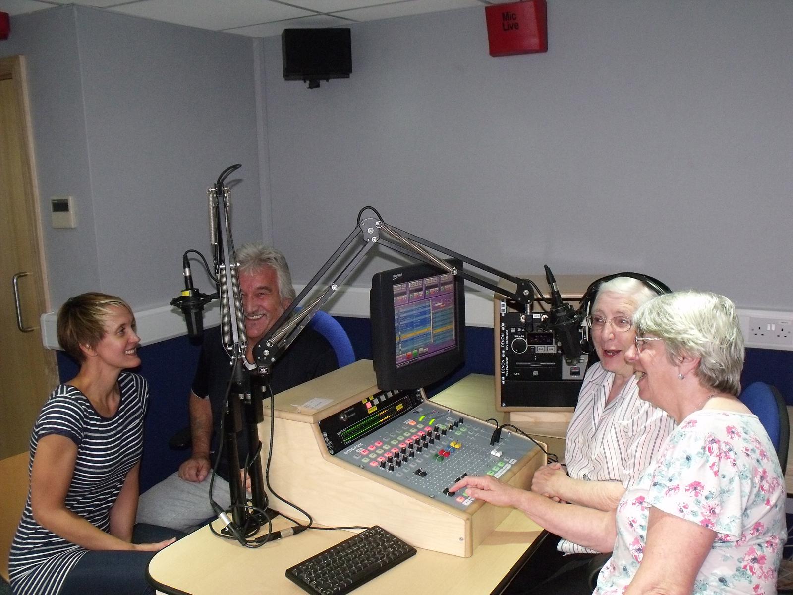Gardening radio show