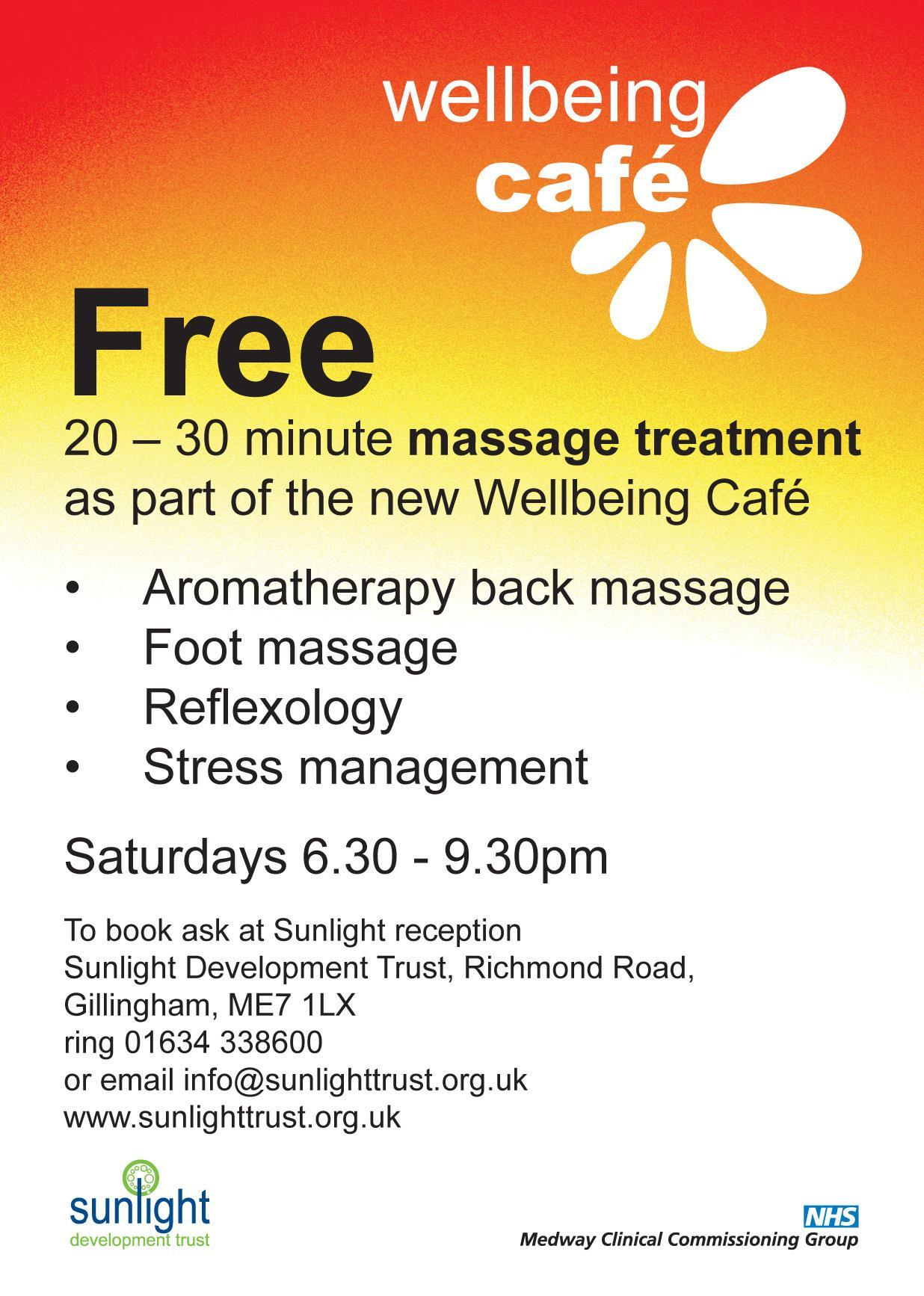 Free massage treatment