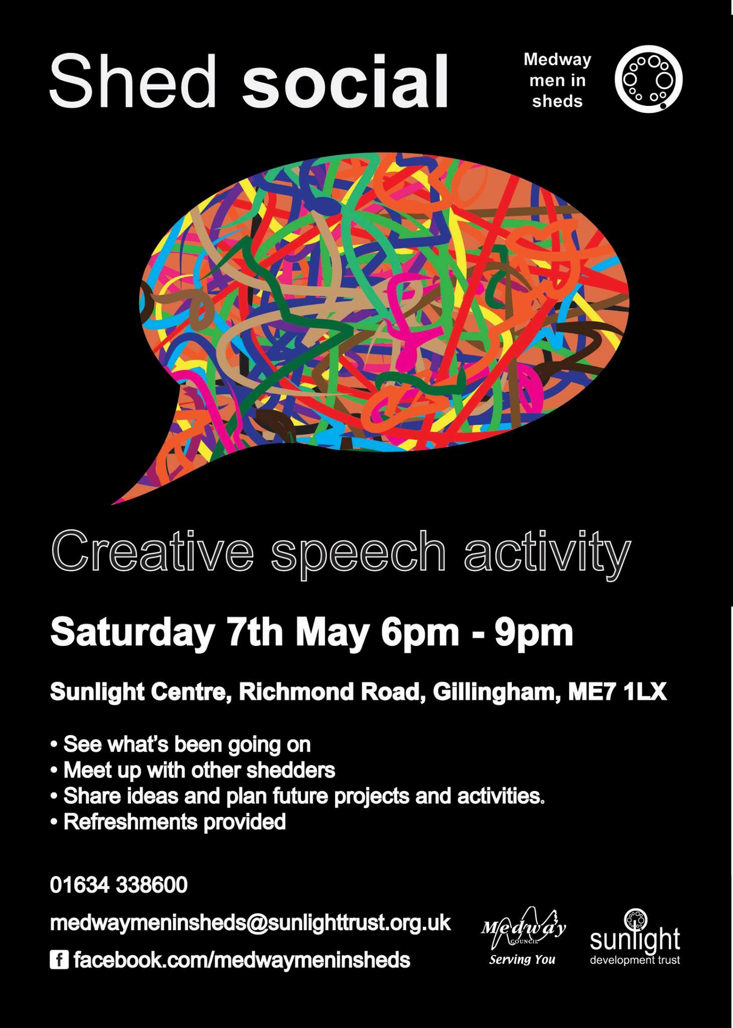 Creative Speech activity