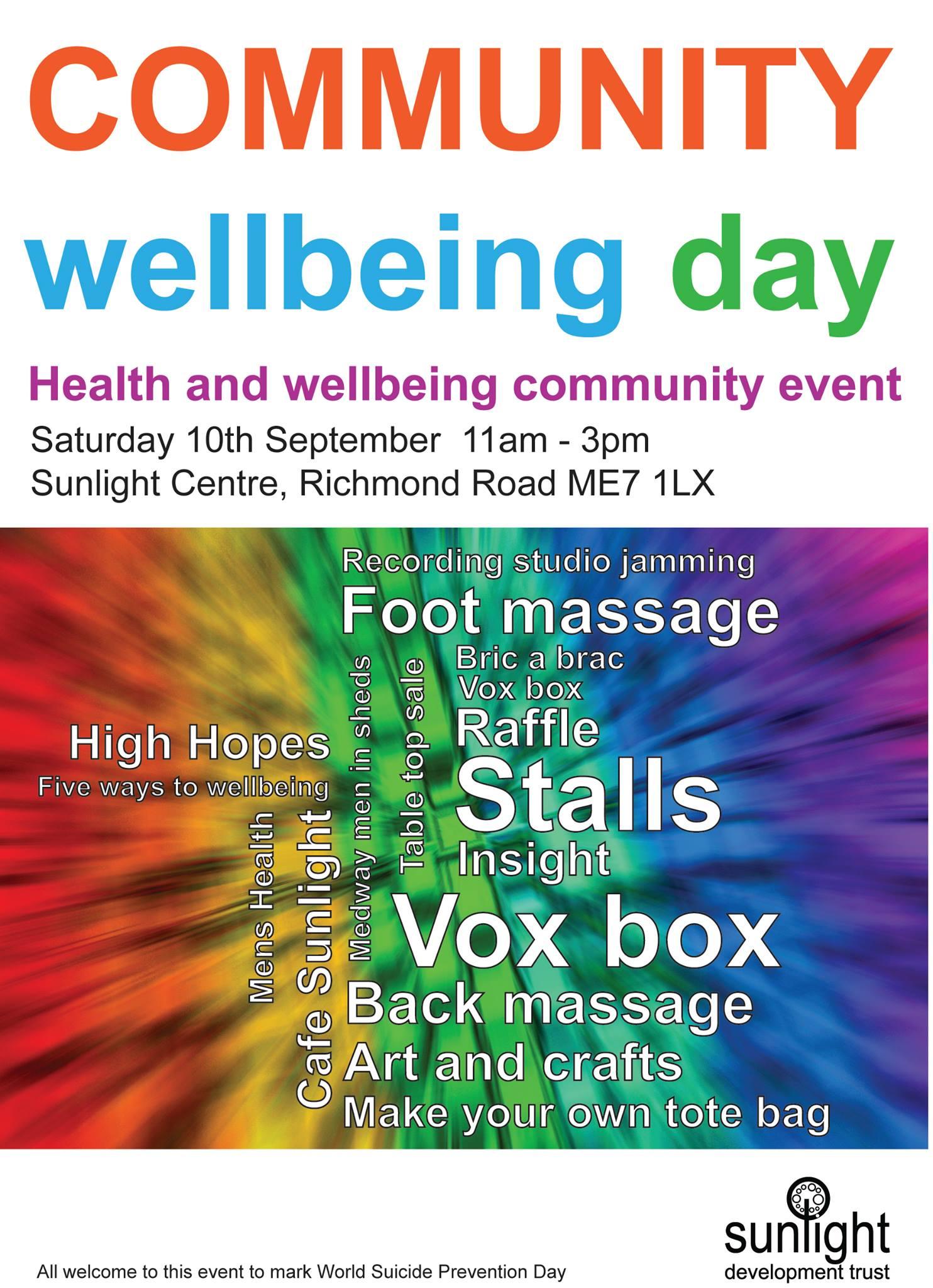 Community Wellbeing Day