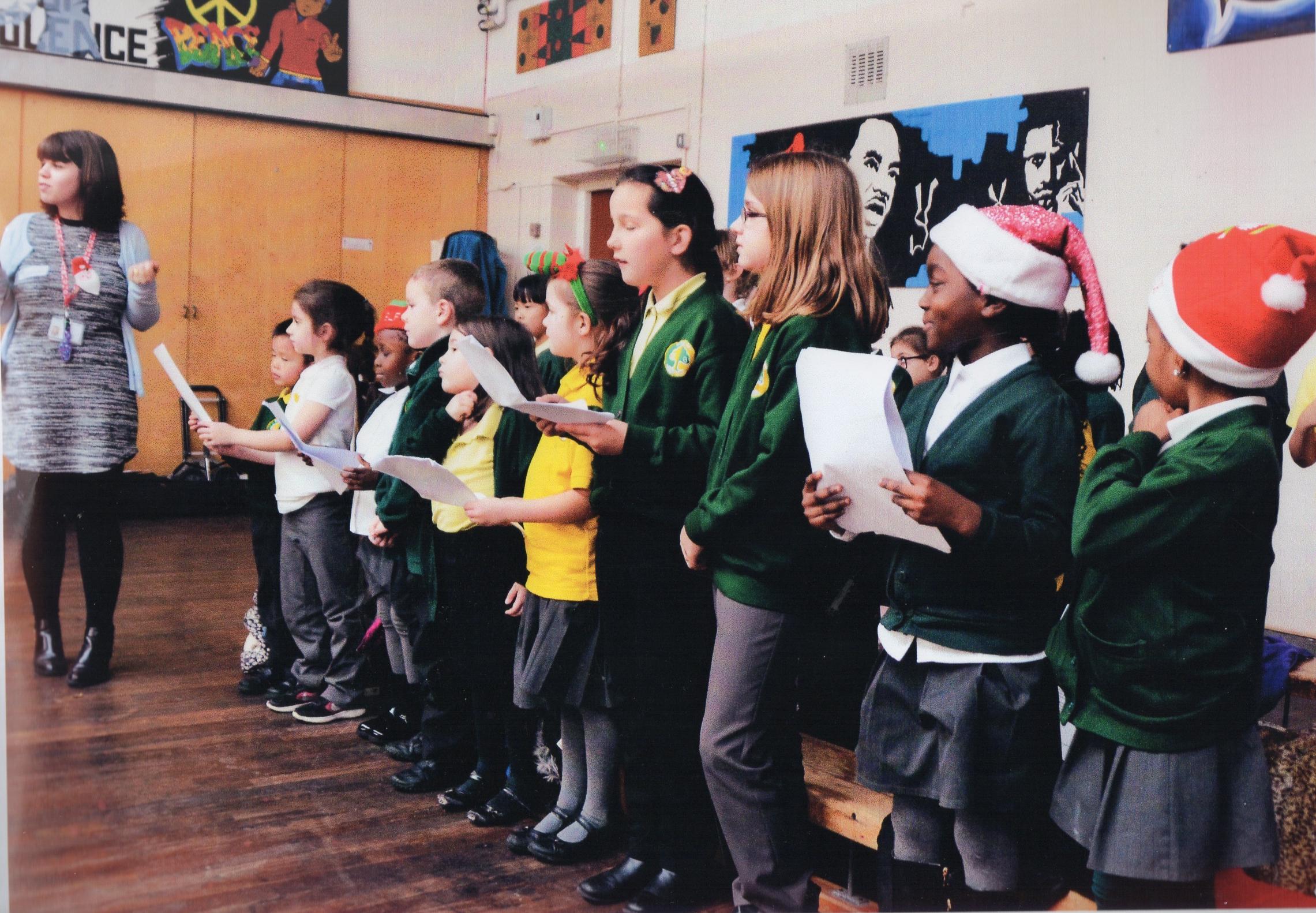 ADFS Christmas Singalong 2018 featuring the choir from Burnt Oak school.