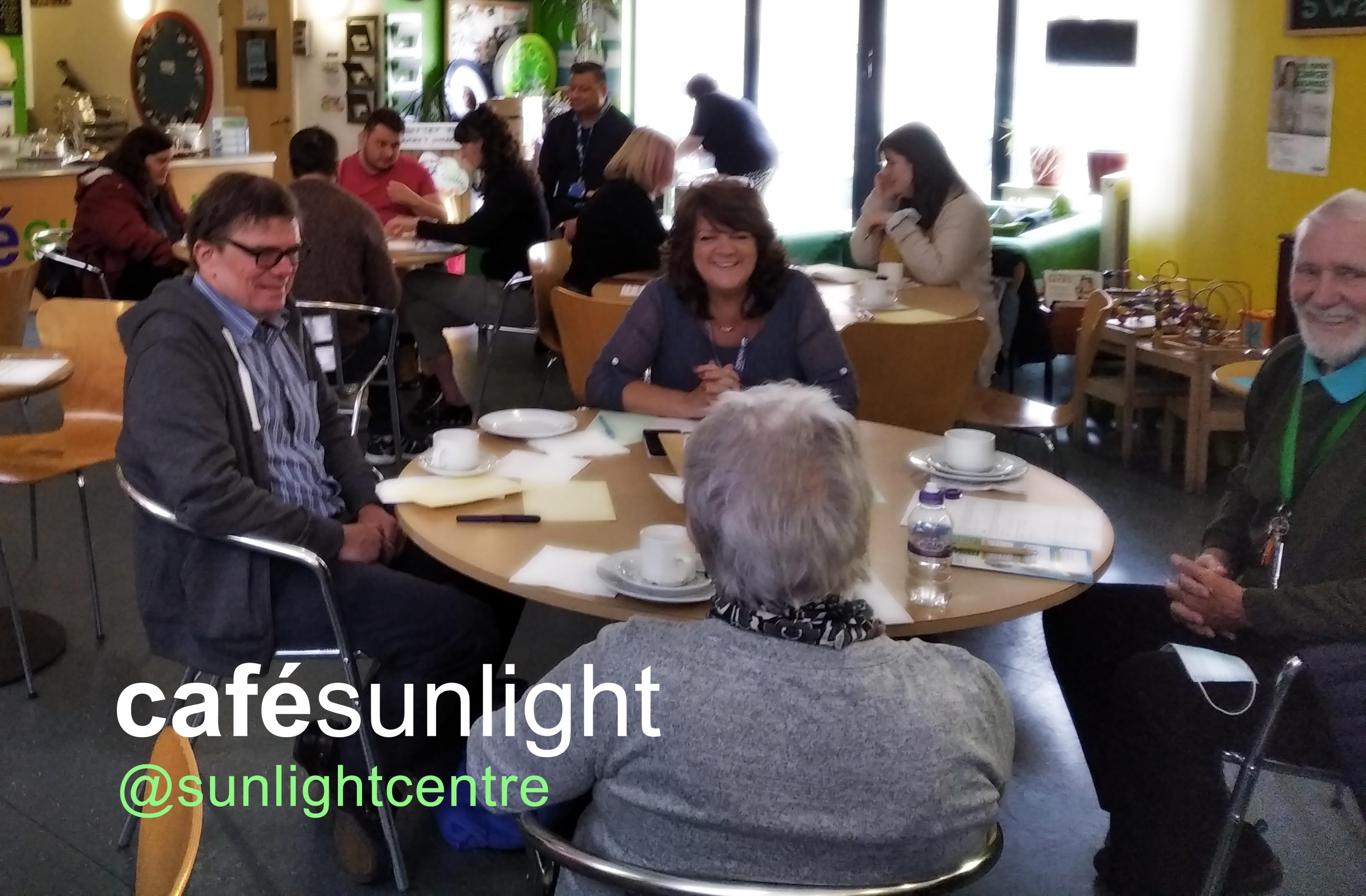 Café Sunlight reopens 19 October!